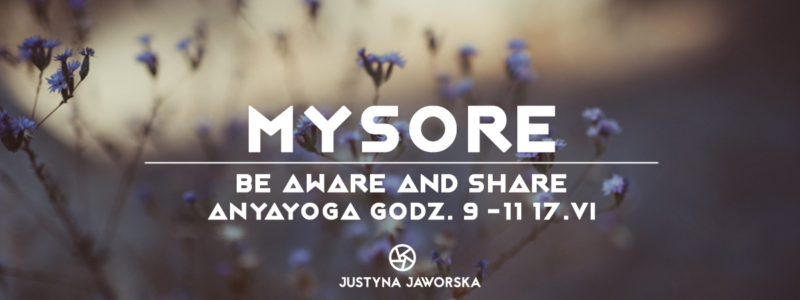 MYSORE – Be aware and share