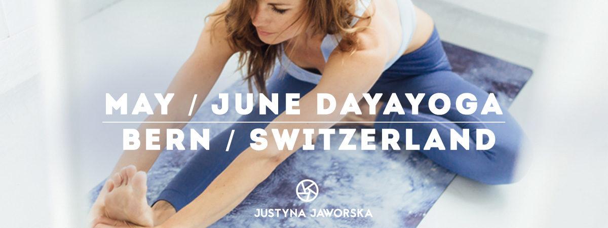May & June: DAYAYOGA BERN