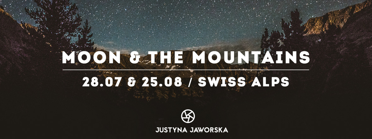 Moon & The Mountains * Yoga & Hike in Swiss Alps