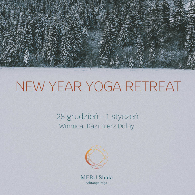 NEW YEAR YOGA RETREAT // 28th DEC – 1st JAN